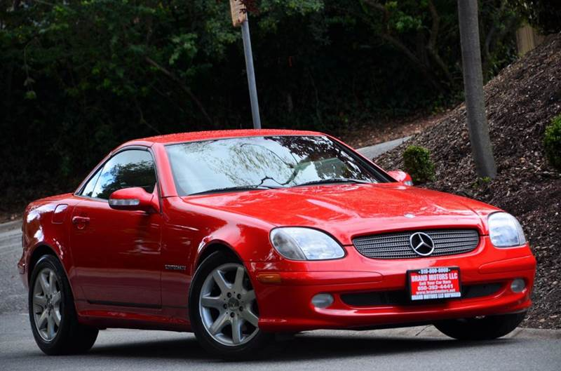 2002 Mercedes Benz Slk Slk 230 Kompressor 2dr Convertible In Belmont