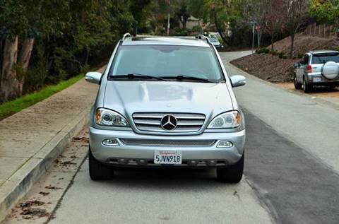 2005 Mercedes-Benz M-Class for sale at Brand Motors llc in Belmont CA