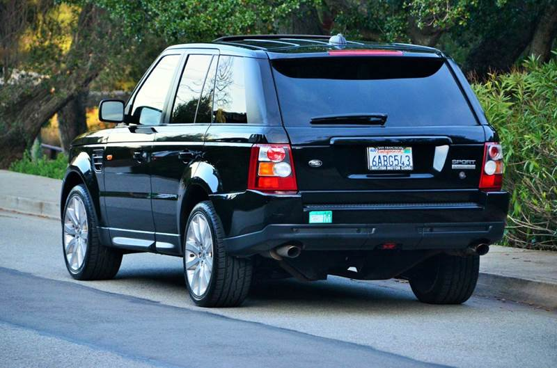 2008 Land Rover Range Rover Sport Supercharged 4x4 4dr SUV - Belmont CA