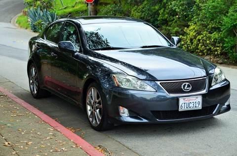 2008 Lexus IS 250 for sale at Brand Motors llc in Belmont CA