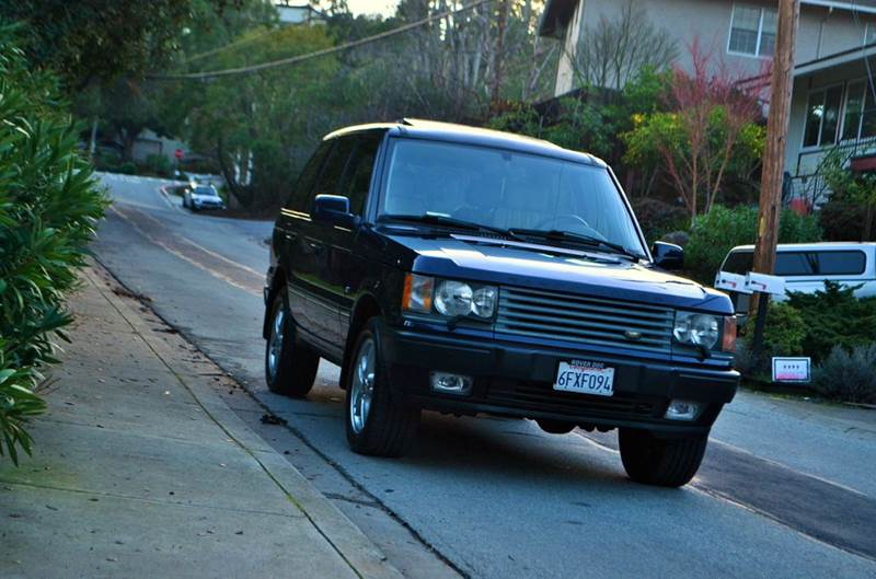 2002 Land Rover Range Rover 4.6 HSE AWD 4dr SUV - Belmont CA