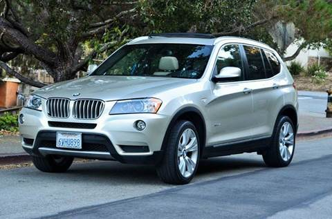 2012 BMW X3 for sale at Brand Motors llc in Belmont CA