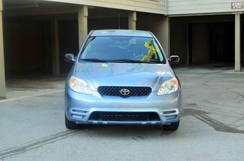 2004 Toyota Matrix for sale at Brand Motors llc in Belmont CA