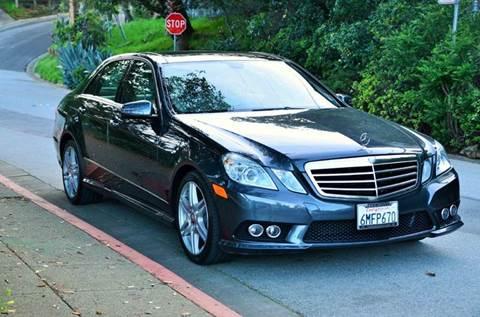 2010 Mercedes-Benz E-Class for sale at Brand Motors llc in Belmont CA
