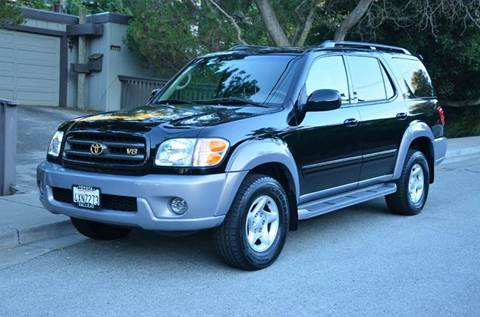 2002 Toyota Sequoia for sale at Brand Motors llc - Belmont Lot in Belmont CA