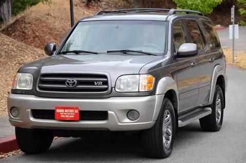 2004 Toyota Sequoia for sale at Brand Motors llc - Belmont Lot in Belmont CA