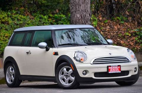 2008 MINI Cooper Clubman for sale at Brand Motors llc - Belmont Lot in Belmont CA