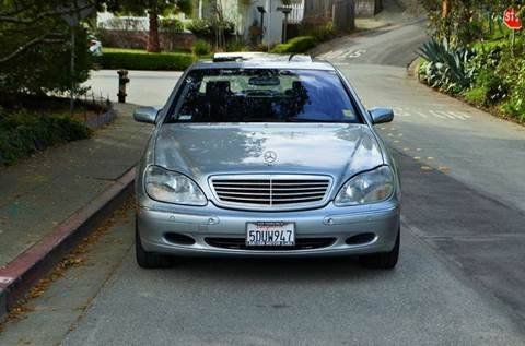 2001 Mercedes-Benz S-Class for sale at Brand Motors llc in Belmont CA