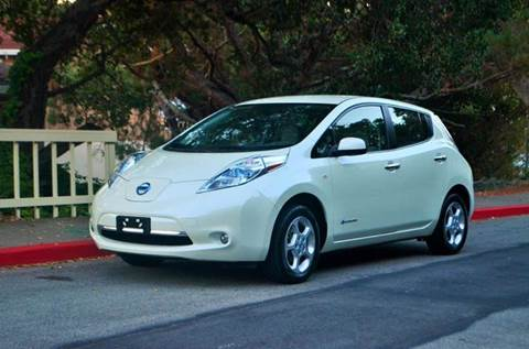 2012 Nissan LEAF for sale at Brand Motors llc in Belmont CA