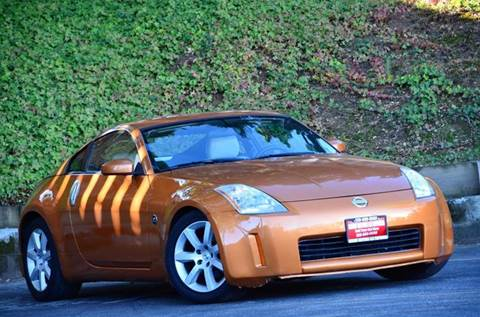 2004 Nissan 350Z for sale at Brand Motors llc - Belmont Lot in Belmont CA