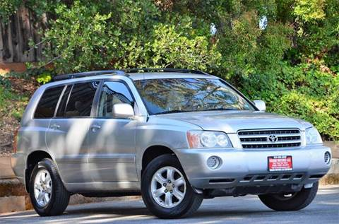 2003 Toyota Highlander for sale at Brand Motors llc - Belmont Lot in Belmont CA