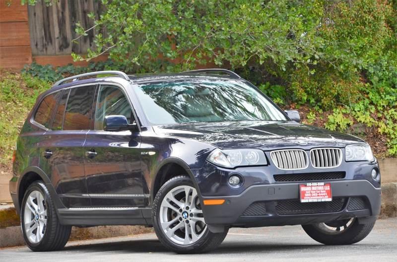 2008 Bmw X3 3.0 Si >> 2008 Bmw X3 3 0si Awd 4dr Suv In Belmont Ca Brand Motors Llc