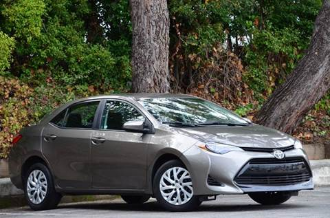 2018 Toyota Corolla for sale at Brand Motors llc - Belmont Lot in Belmont CA