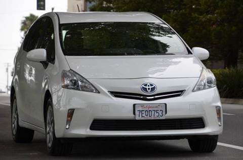 2014 Toyota Prius v for sale at Brand Motors llc - Belmont Lot in Belmont CA