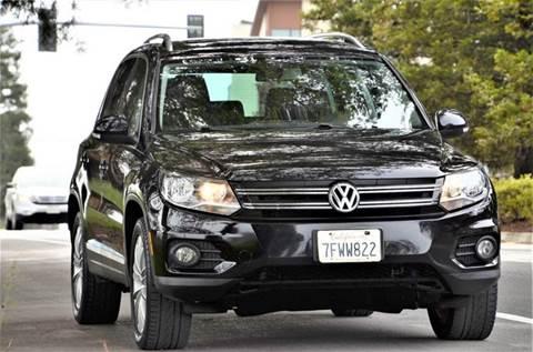 2012 Volkswagen Tiguan for sale at Brand Motors llc - Belmont Lot in Belmont CA