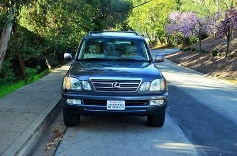 2004 Lexus LX 470 for sale at Brand Motors llc in Belmont CA