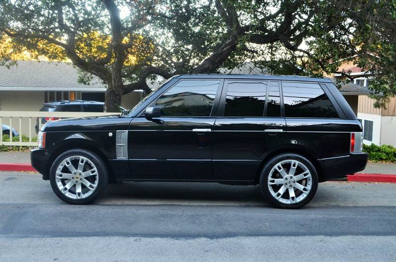 2008 Land Rover Range Rover Supercharged 4x4 4dr SUV - Belmont CA