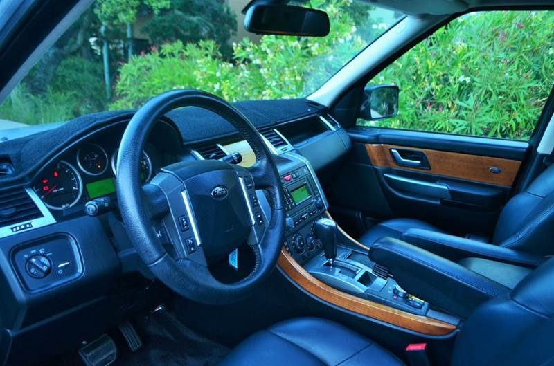 2007 Land Rover Range Rover Sport Supercharged 4dr SUV 4WD - Belmont CA