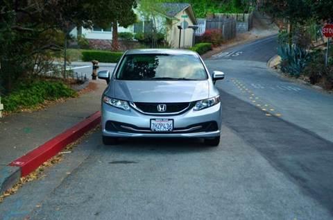 2014 Honda Civic for sale at Brand Motors llc in Belmont CA