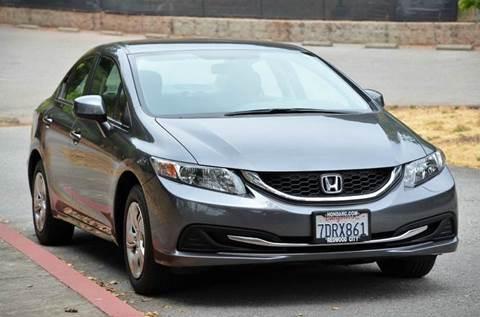 2013 Honda Civic for sale at Brand Motors llc - Belmont Lot in Belmont CA