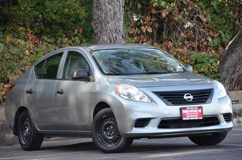 2012 Nissan Versa for sale at Brand Motors llc - Belmont Lot in Belmont CA