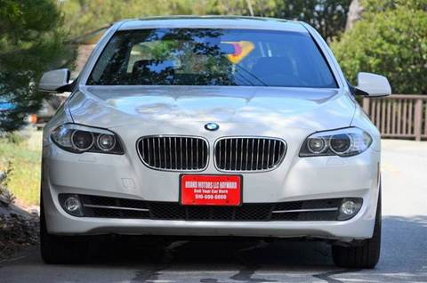 2012 BMW 5 Series for sale at Brand Motors llc - Belmont Lot in Belmont CA