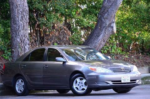 2002 Toyota Camry for sale at Brand Motors llc - Belmont Lot in Belmont CA