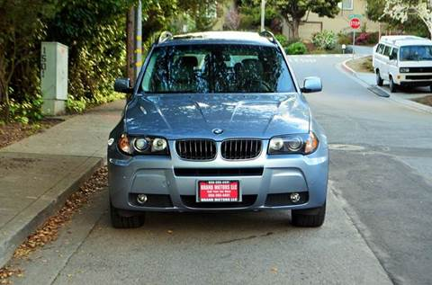 2006 BMW X3 for sale at Brand Motors llc in Belmont CA