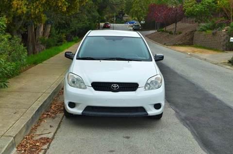 2007 Toyota Matrix for sale at Brand Motors llc in Belmont CA