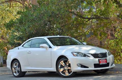 2010 Lexus IS 350C for sale at Brand Motors llc - Belmont Lot in Belmont CA