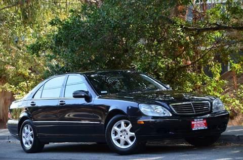 2002 Mercedes-Benz S-Class for sale at Brand Motors llc - Belmont Lot in Belmont CA