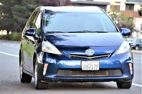 2012 Toyota Prius v for sale at Brand Motors llc - Belmont Lot in Belmont CA