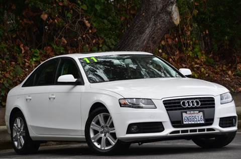 2011 Audi A4 for sale at Brand Motors llc - Belmont Lot in Belmont CA