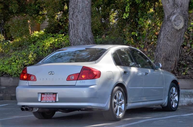 2006 Infiniti G35 Base 4dr Sedan w/Automatic - Belmont CA