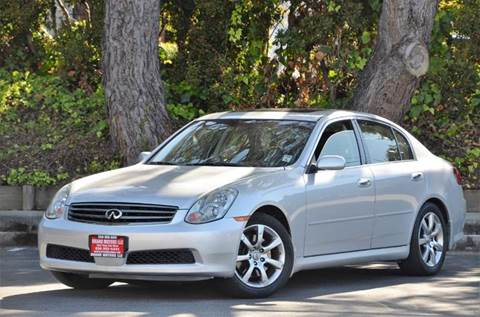 2006 Infiniti G35 for sale at Brand Motors llc - Belmont Lot in Belmont CA