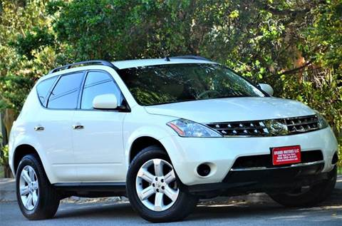 2007 Nissan Murano for sale at Brand Motors llc - Belmont Lot in Belmont CA
