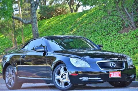 2006 Lexus SC 430 for sale at Brand Motors llc - Belmont Lot in Belmont CA
