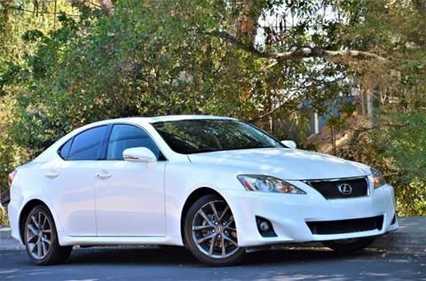 2012 Lexus IS 250 for sale at Brand Motors llc - Belmont Lot in Belmont CA