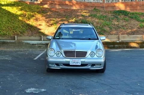2002 Mercedes-Benz E-Class for sale at Brand Motors llc in Belmont CA