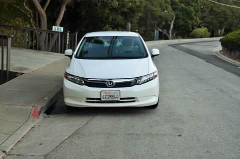 2012 Honda Civic for sale at Brand Motors llc in Belmont CA