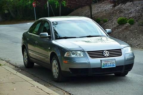 2003 Volkswagen Passat for sale at Brand Motors llc in Belmont CA