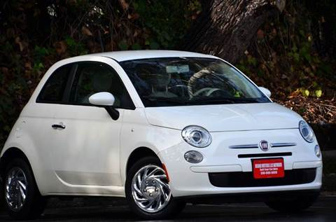 2013 FIAT 500 for sale at Brand Motors llc - Belmont Lot in Belmont CA