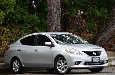 2012 Nissan Versa for sale at Brand Motors llc - Belmont Lot in Belmont CA