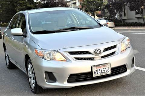 2012 Toyota Corolla for sale at Brand Motors llc - Belmont Lot in Belmont CA