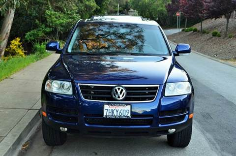 2004 Volkswagen Touareg for sale at Brand Motors llc in Belmont CA