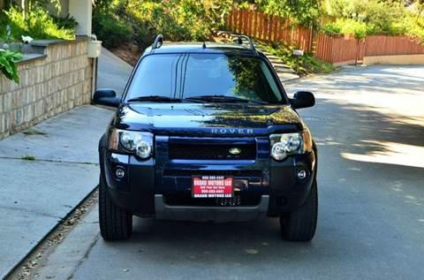 2004 Land Rover Freelander for sale at Brand Motors llc in Belmont CA