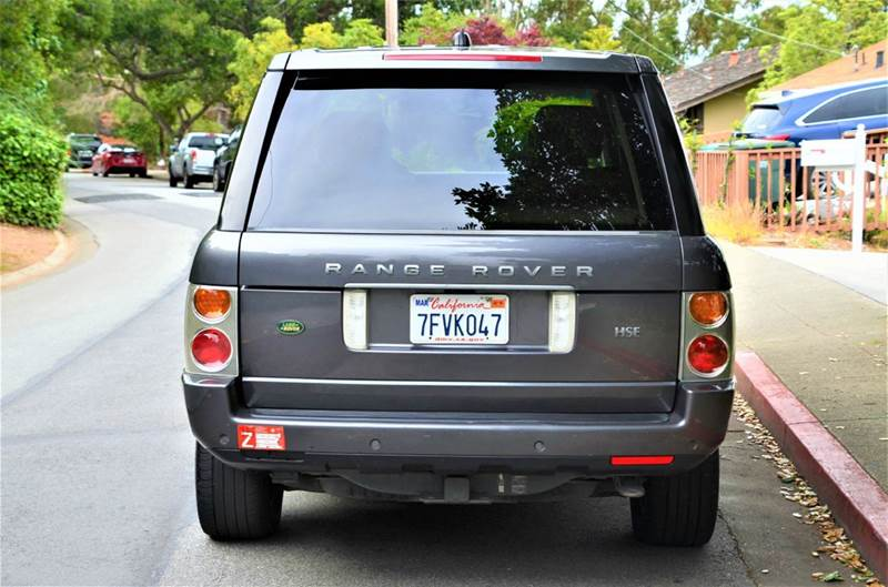 2005 Land Rover Range Rover HSE 4WD 4dr SUV - Belmont CA