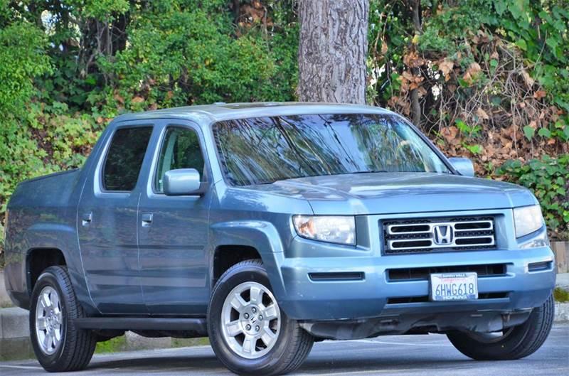 2008 Honda Ridgeline Rtl W Navi 4x4 4dr Crew Cab In Belmont Ca