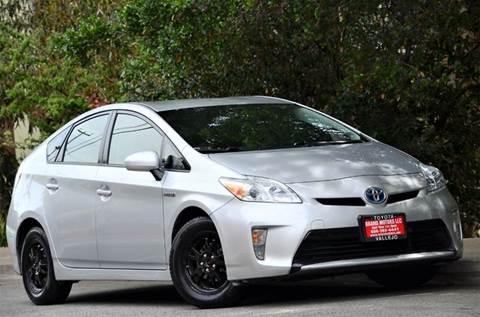 2013 Toyota Prius for sale at Brand Motors llc - Belmont Lot in Belmont CA