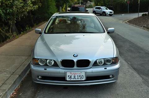 2002 BMW 5 Series for sale at Brand Motors llc in Belmont CA
